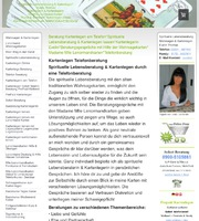 Homepage Internetseite Kartenlegerin Wahrsagerin Hellseherin Evelin Thomas Kartenlegen Wahrsagen Hellsehen Telefonberatung Kurse Seminare