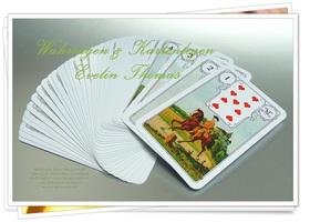 Kartenlegen lernen legesystem legemuster legebeispiele Evelin Thomas Kartenlegerin Lebensberatung Wahrsagen Kurse Seminare